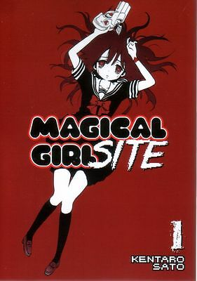 Magical Girl Site  Volume 1  Kentaro Sato     Manga Pbk  NEW