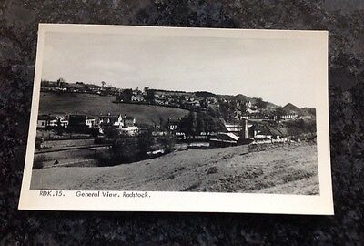 Old Frith Postcard Of A General View Of Radstock