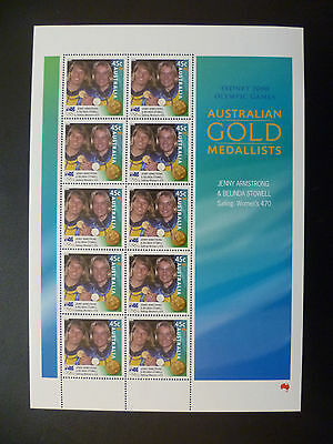 Australian Stamps - 2000 Sydney Olympics 45c Armstrong and Stowell (sheetlet)
