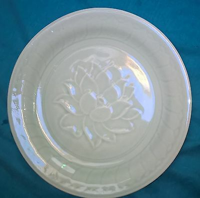 large chinese celadon plate