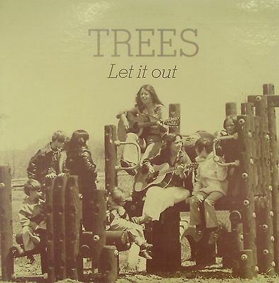 Trees - Let It Out. Original US 1979 Folk Music Project LP. EXC Throughout.