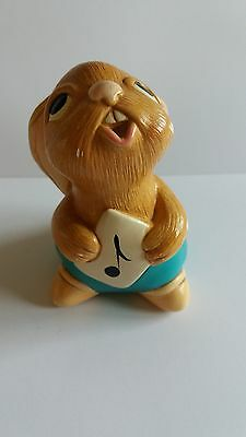 Vintage Pendelfin Bunny Rabbit Figurine ROLLY Hand Painted Stonecraft