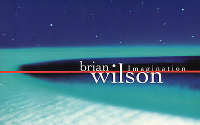 Brian Wilson - Imagination. Promotional Biography Booklet.  EXC. 1998