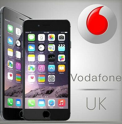 100% Official FAST Vodafone UK iPhone unlock Service 4 5 6 7 8 series