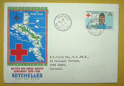 First Day cover - Seychelles 1970