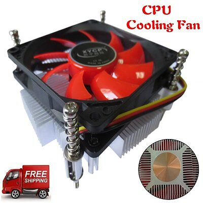 Ultra-thin Professional CPU Cooling Heat Fan Radiator Suitable for Intel Lot AU