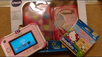 pink vtech innotab 3s kids tablet new accessories new game + ADaptor