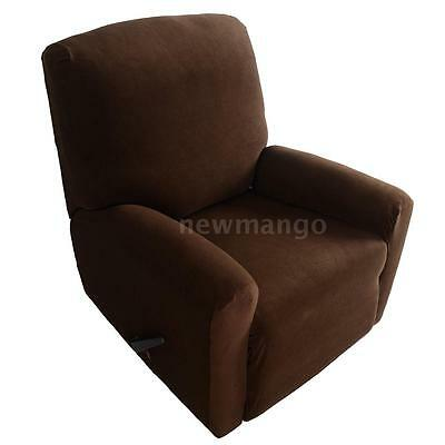 Elastic Spandex One Seater Recliner Cover Chair Slipcover Sofa Slipcovers W3G1