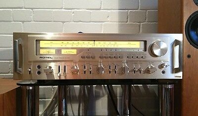 Rotel RX 1603 - Rare Monster - BEST VINTAGE RECEIVER EVER MADE: Pure Audio Bliss