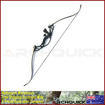 New Recurve Bow Takedown Hunting Bow Alloy Riser Target Archery Arrows Kit Adult