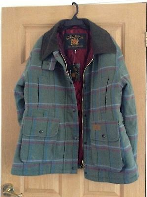Tweed Field Coat Size 14 BNWT