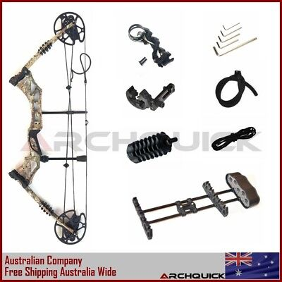 2017 New Compound Bow Archery Hunting Kit Right Hand Target Camo 30-60lbs
