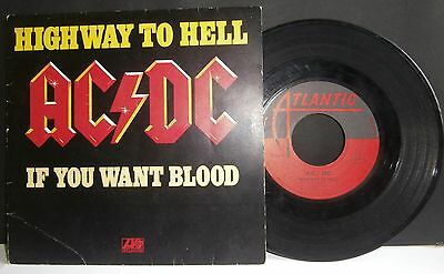 Ac/dc - Highway To Hell - 7'' + Ps - France
