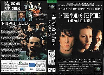 IN THE NAME OF FATHER (1993) vhs ex noleggio