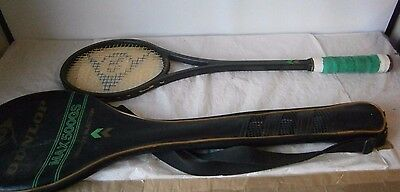 Squash Racket Vintage Dunlop Max 500GS Graphite Injection with carry bag cover