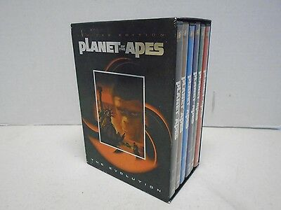 Planet of the Apes Limited Edition The Evolution 6 DVD Set Escape Beneath Battle