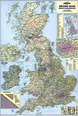 POSTCODE MAP OF Uk –Large Paper Wall Poster Maps Gb All