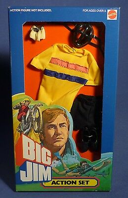 BIG JIM 9496 Action Set Radsport Outfit Giro d'Italia MIB OVP MATTEL F173