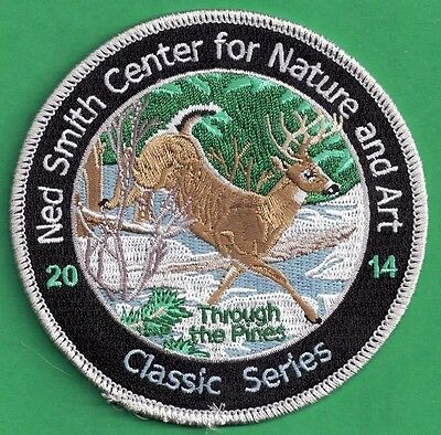 """Pa Pennsylvania Game Fish Commission Ned Smith 2014 """"Through The Pines""""  Patch"""
