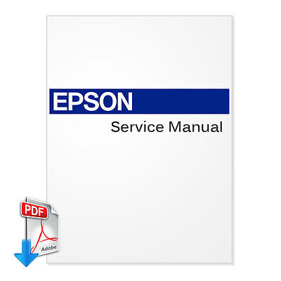 EPSON Stylus Pro 7400 7800 9400 9800 Plotter English Service Manual
