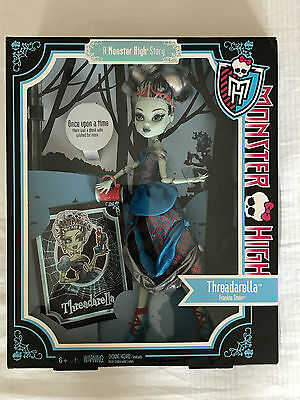 Monster High Doll Threadarella Frankie Stein Brand New in the Box.