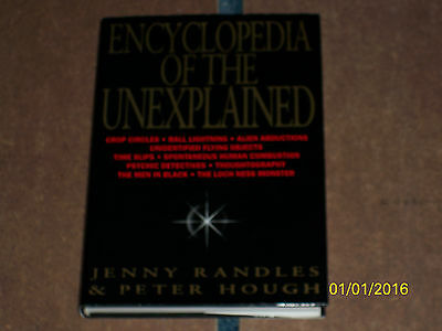 Paranormal Book - Encyclopedia Of the Unexplained