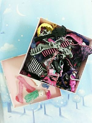 Mattel Monster High Dolls Shoes and Accessories