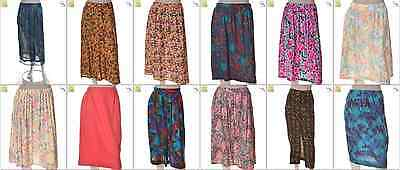 JOB LOT OF 46 VINTAGE WOMEN'S SKIRTS - Mix of Era's, styles and sizes (21465)*
