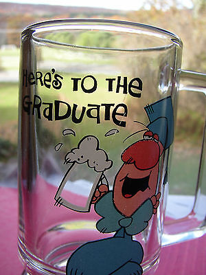 ZIGGY Here's To The Graduate 1980's CUP, MUG, Beer Stein, or Glass