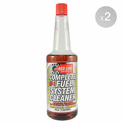 RED LINE SI-1 Fuel System Cleaner 2 x 443ml Bottle (886ml)