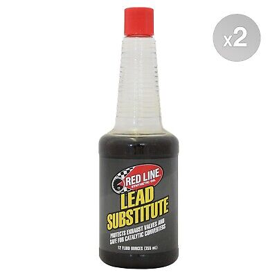 RED LINE Lead Substitute Additive 2 x 355ml (710ml)