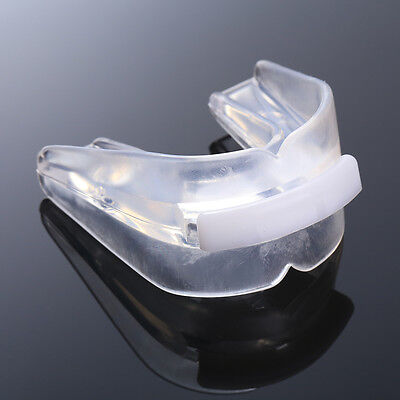 Transparent Sports Mouth Guard Teeth Protector Rugby Boxing Strenuous Exercise