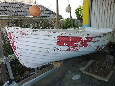 """Boat Tender 10 Ft X 4""""4 Ft Beam And Launching Trailer"""