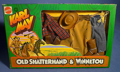 BIG JIM 9411 Adventure Set Karl May Cowboy Western Outfit Winnetou OVP MIB F173