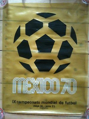 1970 World Cup poster - Mexico 70 - original