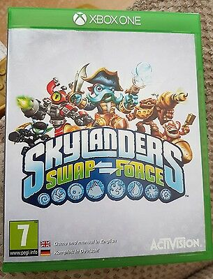 Skylanders Swap Force - XBOX ONE, CASE ONLY (NO GAME DISK)