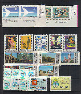 Argentina Seven unmounted mint sets