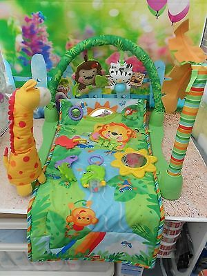 Fisher Price Rainforest Baby Gym And Mat In Vgc