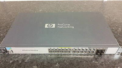 HP 2520G-24 POE Managed Ethernet Switch - J9299A