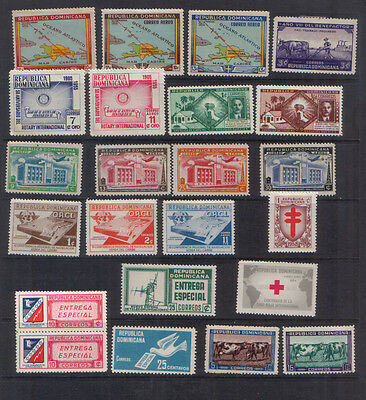 Dominican Republic 1937-58 Eleven unmounted mint sets