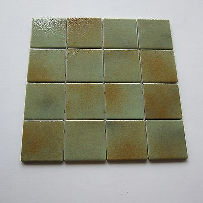 Vintage Emaux de Briare Porcelain 1970s Glazed Floor Tile, 50 Sq Ft Available