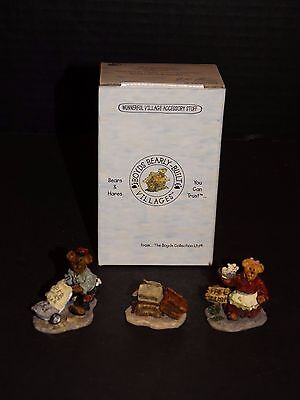 Boyds Bearly Villages ~ Dominicks Delivery Sweet Treats Caitlins  #19515~ Box