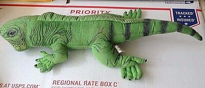 Applause Igauna Lizard Plush Stuffed Animal Determined 1990