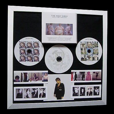 MANIC STREET PREACHERS+Bible+GALLERY QUALITY FRAMED+FAST GLOBAL SHIP+Not Signed