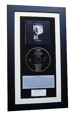 AUTEURS New Wave CLASSIC CD Album GALLERY QUALITY FRAMED+EXPRESS GLOBAL SHIPPING