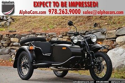 2016 Ural Gear Up 2WD Flat Black Custom  Black Coated Drivetrain Reverse Gear Brembo Brakes Financing & Trades