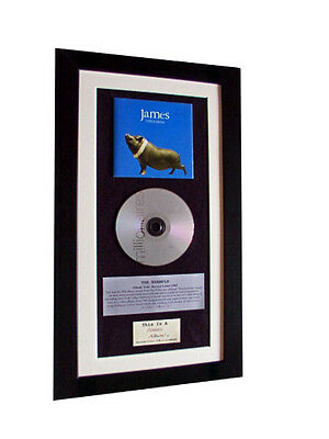 JAMES Millionaires CLASSIC CD Album GALLERY QUALITY FRAMED+EXPRESS GLOBAL SHIP