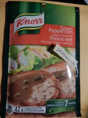 Knorr Green Peppercorn Classic Sauce Mix 42 g Pouch
