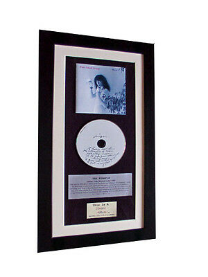 PATTI SMITH Wave CLASSIC CD Album GALLERY QUALITY FRAMED+EXPRESS GLOBAL SHIP