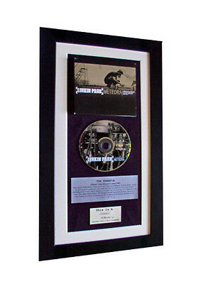 LINKIN PARK Meteora CLASSIC CD Album GALLERY QUALITY FRAMED+EXPRESS GLOBAL SHIP